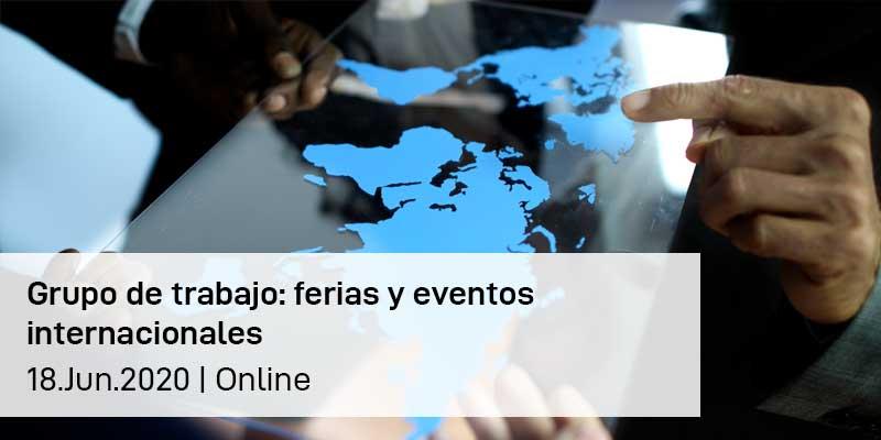 Grupo de trabajo ferias y eventos internacionales