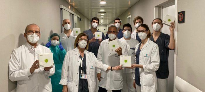 SECARTYS dona 1500 mascarillas al Hospital Universitario Dexeus