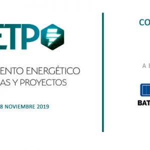 AETP 2019. Almacenamiento energético: Tecnologías y proyectos