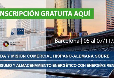 Jornada Autoconsumo y Almacenamiento Energético con Energías Renovables