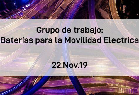 Grupo de Trabajo de Baterías para la movilidad eléctrica AEPIBAL