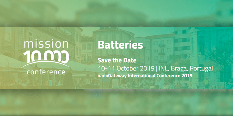 Mission 10000 conference: Baterías