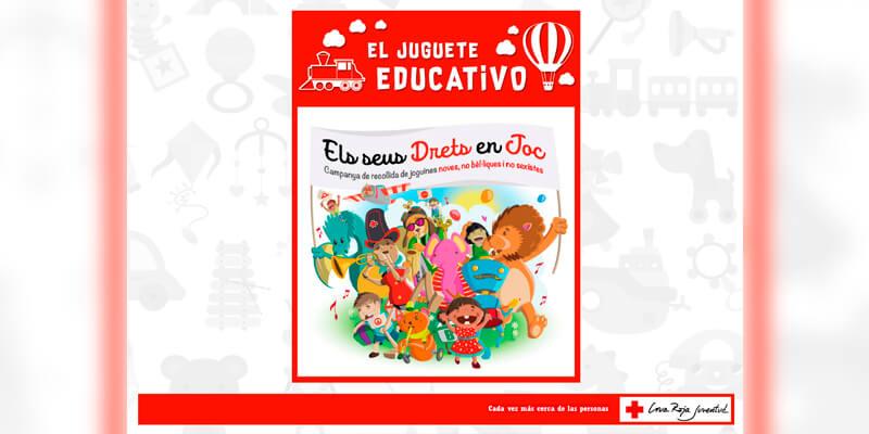 El juguete educativo: Campaña de recogida de juguetes para Navidad