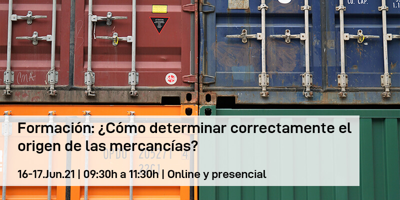 Formación: ¿Cómo determinar correctamente el origen de las mercancías?