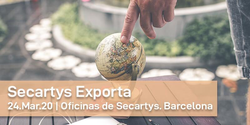 Secartys Exporta: Entrevistas personalizadas con nuestros expertos internacionales