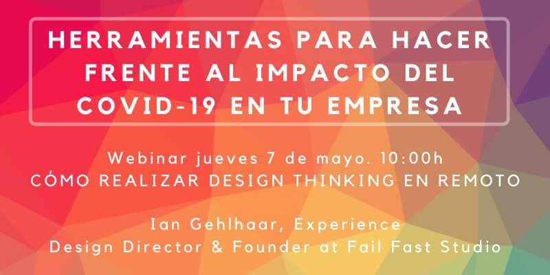 Webinar: Cómo realizar Design Thinking en remoto