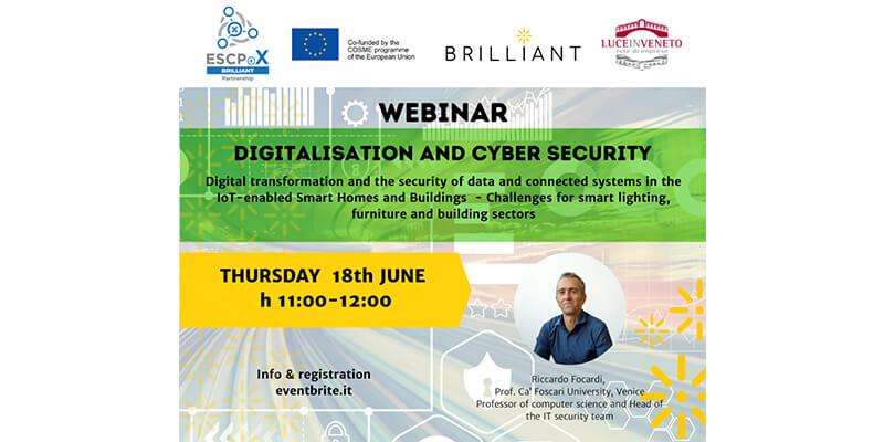 Webinar: Digitalisation and Cyber Security