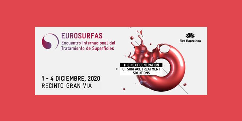 Eurosurfas: Encuentro Internacional del Tratamiento de Superficies