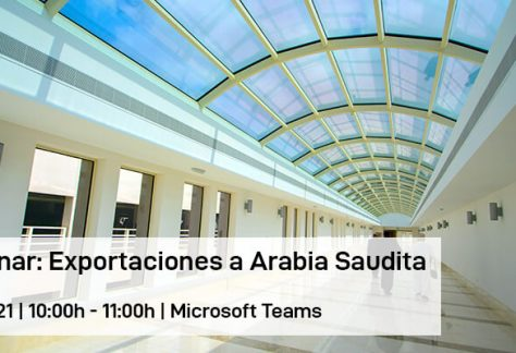 Webinar: Exportaciones a Arabia Saudita