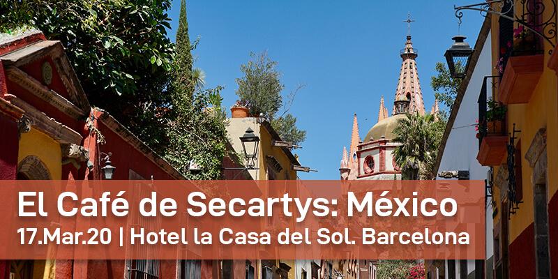 El Café de Secartys: Almuerzo de negocio sobre el mercado Mexicano