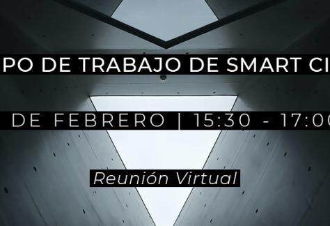 Grupo de Trabajo Smart Cities - 25 de enero de 2021