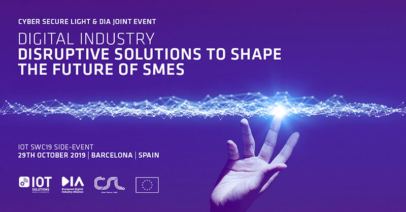 IoT Solutions World Congress Side Event · Barcelona 2019