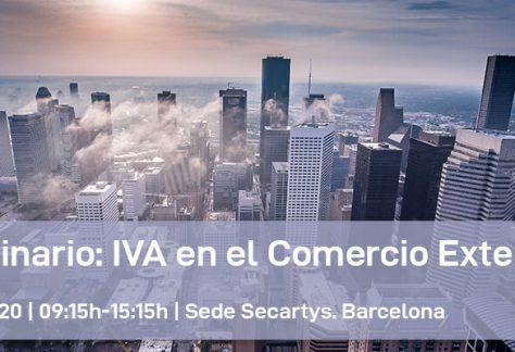 Seminario: IVA en el Comercio Exterior | Cursos ESNI