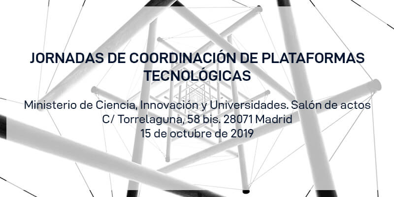 Jornadas de coordinación de Plataformas Tecnológicas