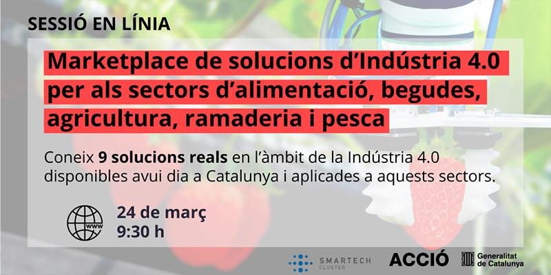 Marketplace de soluciones de Industria 4.0 - 24/03/2021