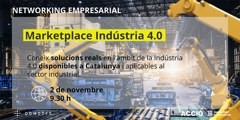 Marketplace de soluciones Industria 4.0 - 02/11/2020
