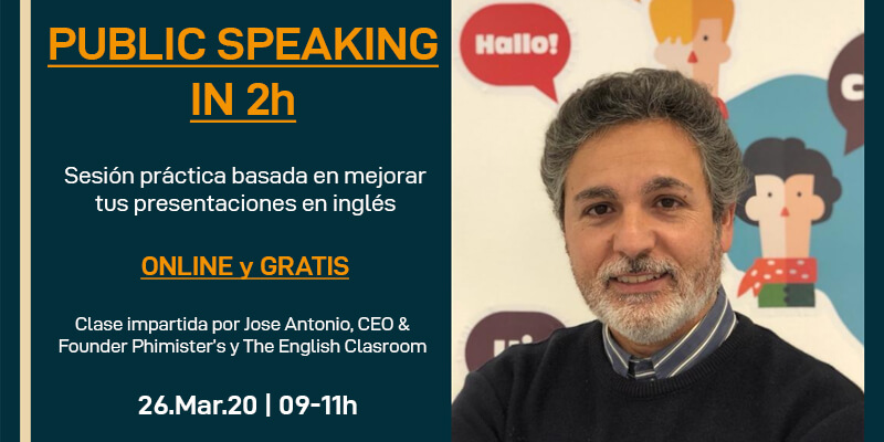 Public speaking in 2h (Gratis) | Online