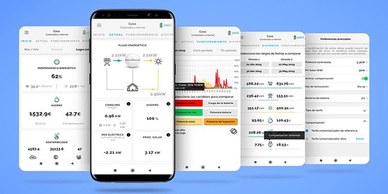 Myampere App Gratuita de Ampere Energy