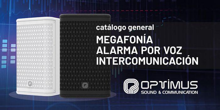 Nuevo catálogo OPTIMUS 2021