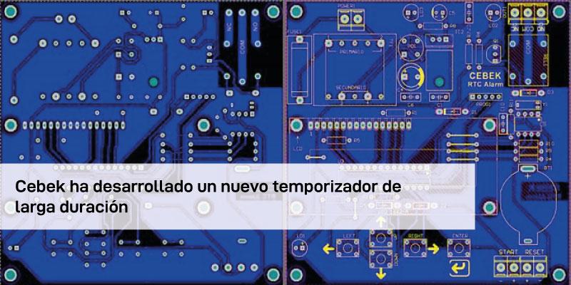Cebek desarrolla un nuevo temporizador de larga duración