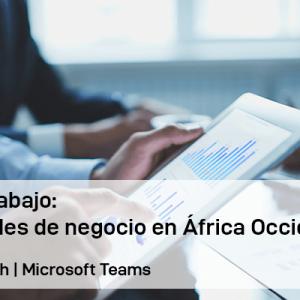 Grupo de Trabajo: Oportunidades de negocio en África Occidental