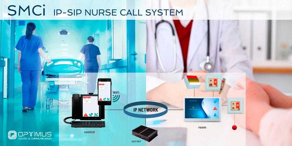El sistema SMCi es una plataforma de comunicación paciente - enfermera diseñada específicamente para hospitales, clínicas y residencias de la tercera edad.