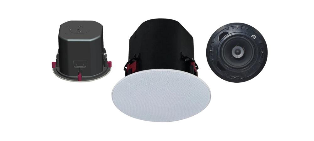 """El modelo A-258MHQ es una caja acústica de techo desarrollada por la empresa OPTIMUS, compuesta por dos altavoces, un tweeter de 1"""" y un altavoz de 8"""""""