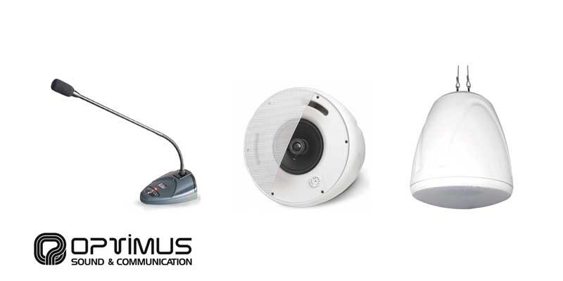 Nuestro socio OPTIMUS Sound & Communication pone a vuestra disposición su catálogo de productos, que se encuentra en continua evolución.