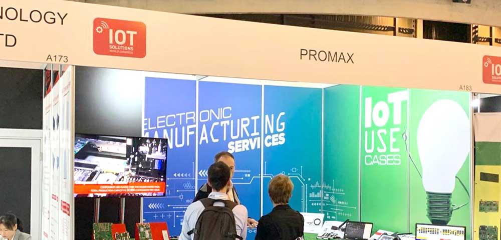 Descubre la presencia de PROMAX Electrónica en las ferias más importantes del sector de las tecnologías inteligentes durante el 2019.