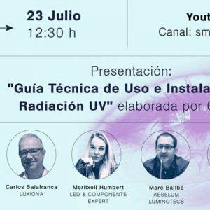 """Presentación de la """"Guía Técnica de Uso e Instalación de Radiación UV"""""""