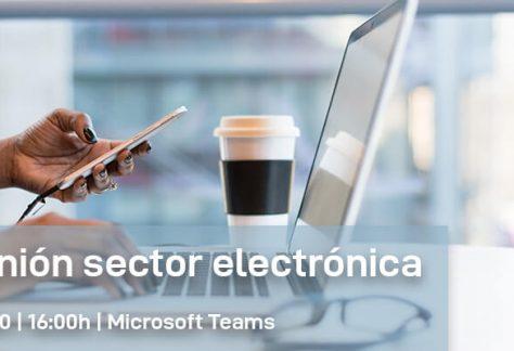 Reunión del sector de la electrónica (online) | Secartys