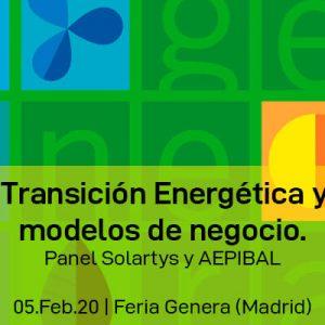 Jornada Transición Energética y Nuevos modelos de negocio. Panel Solartys y AEPIBAL