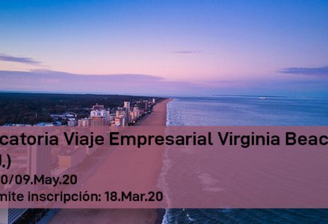 Convocatoria Viaje Empresarial Virginia Beach (EE.UU.)
