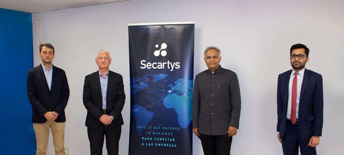 Secartys da los primeros pasos para iniciar una colaboración activa con la Embajada india