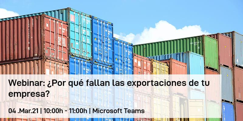 Webinar: ¿Por qué fallan las exportaciones de tu empresa?