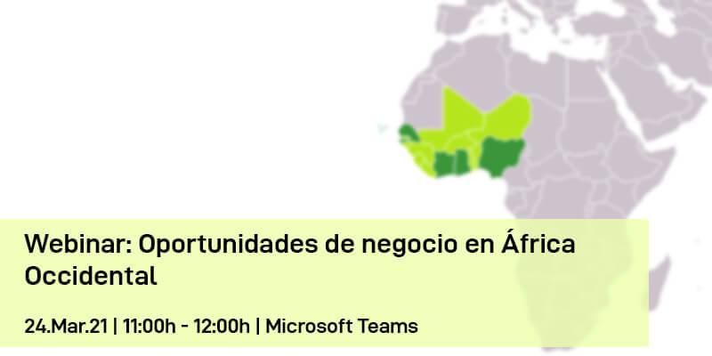 Webinar: Oportunidades de negocio en África Occidental